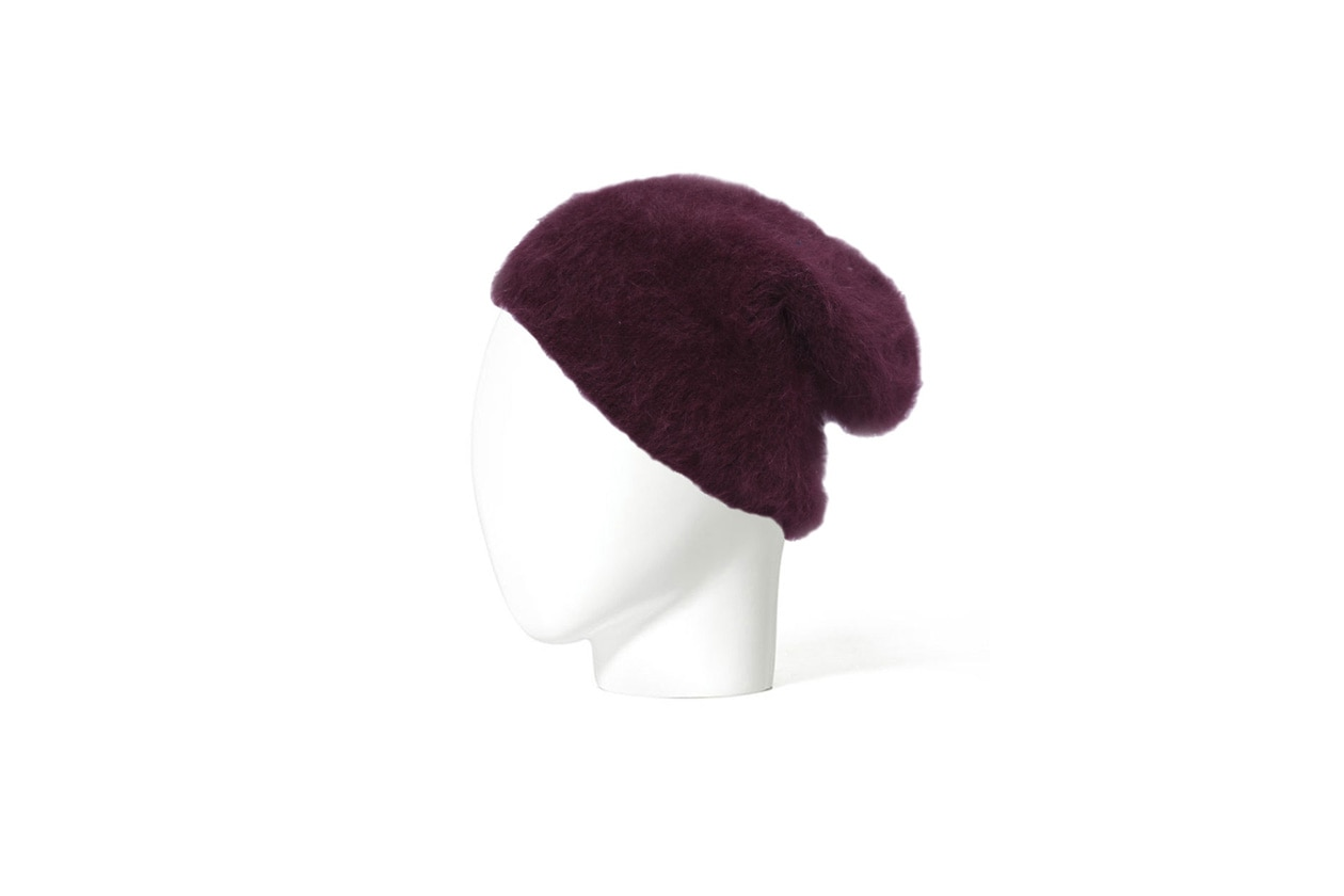 hat zara purple