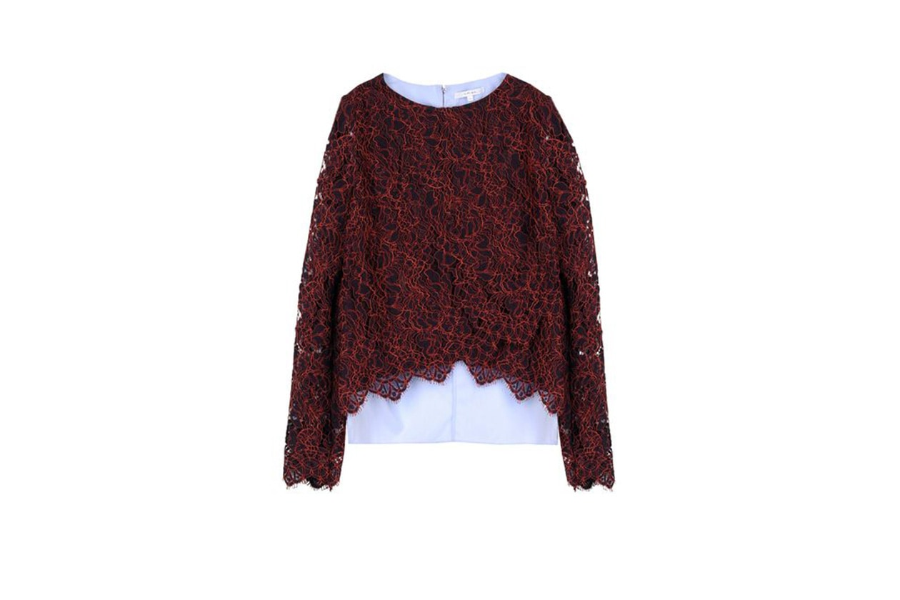 FASHION November Red blusa carven