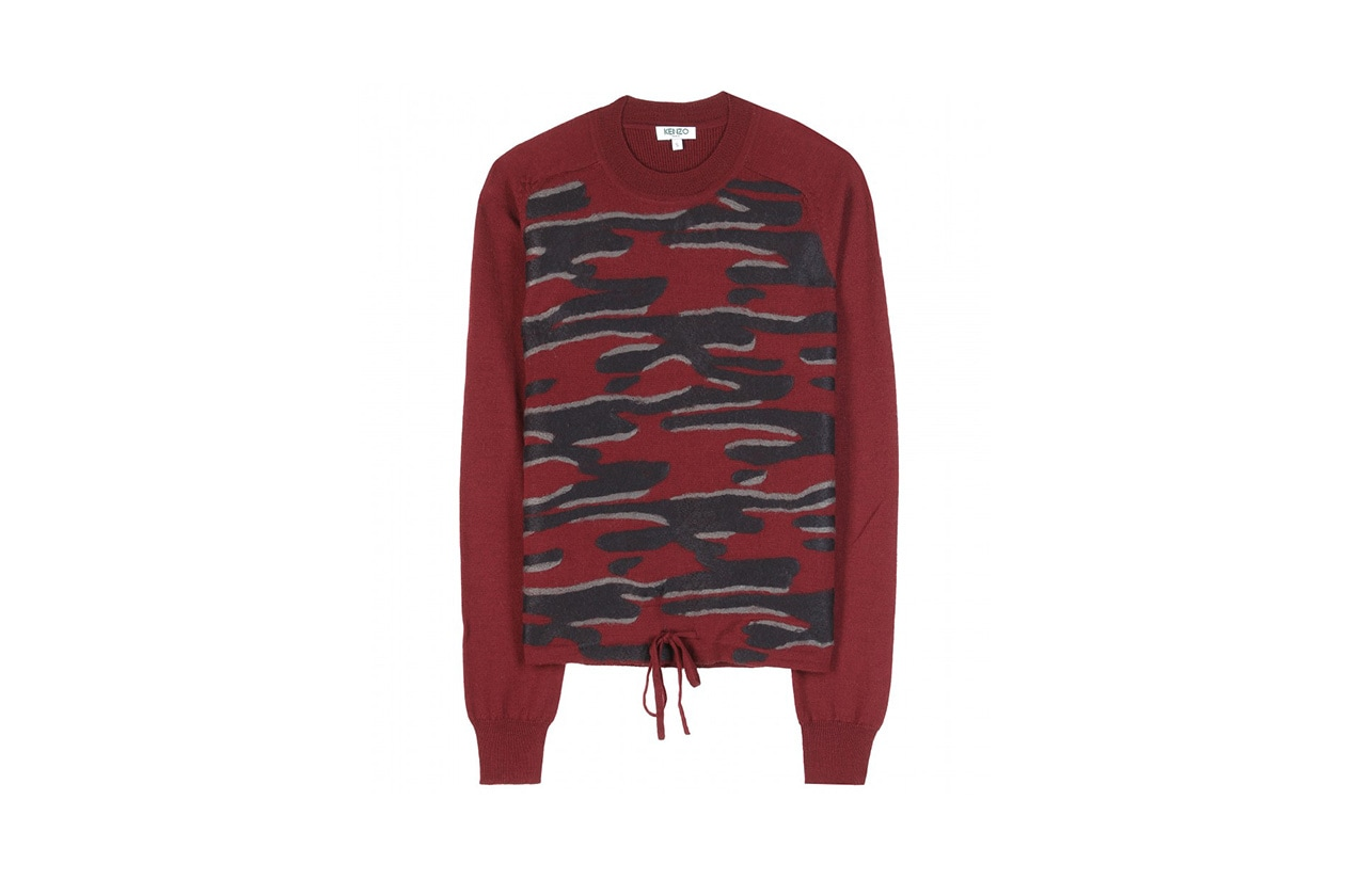 FASHION November Red Kenzo pullover