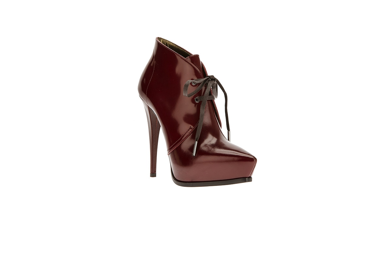 FASHION November Red Lanvin ankle boot