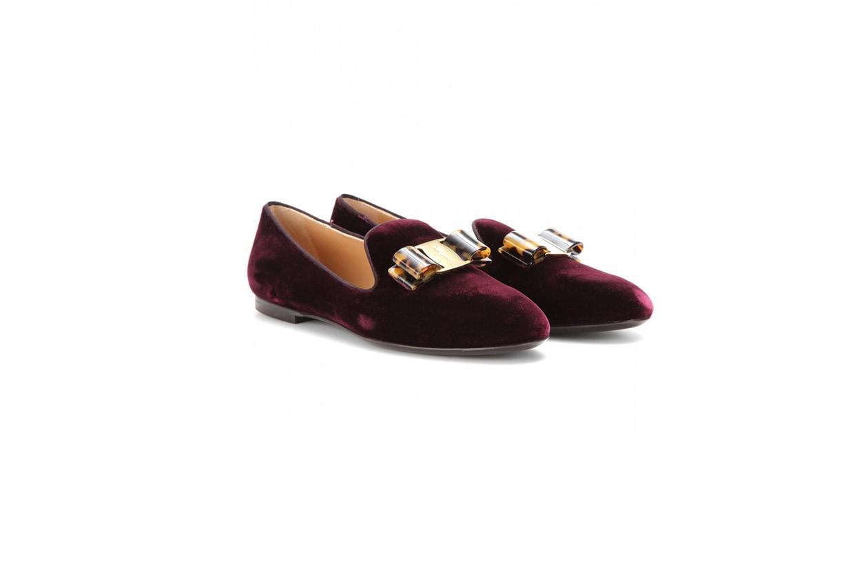FASHION November Red slipper ferragamo