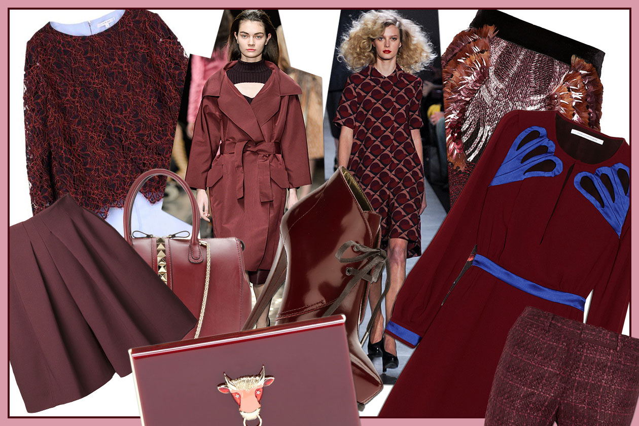 FASHION November Red 00 Cover collage