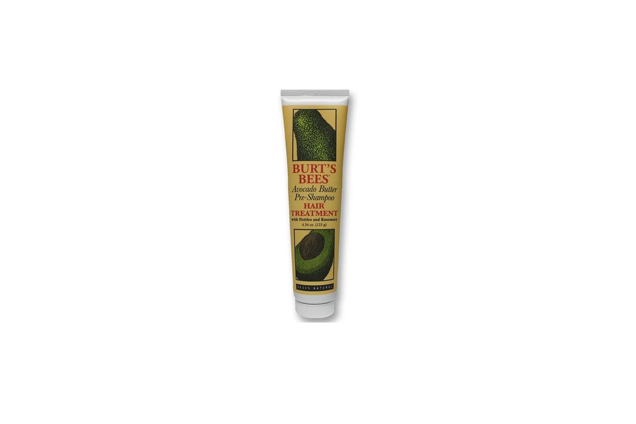 burts bees avocado butter pre shampoo