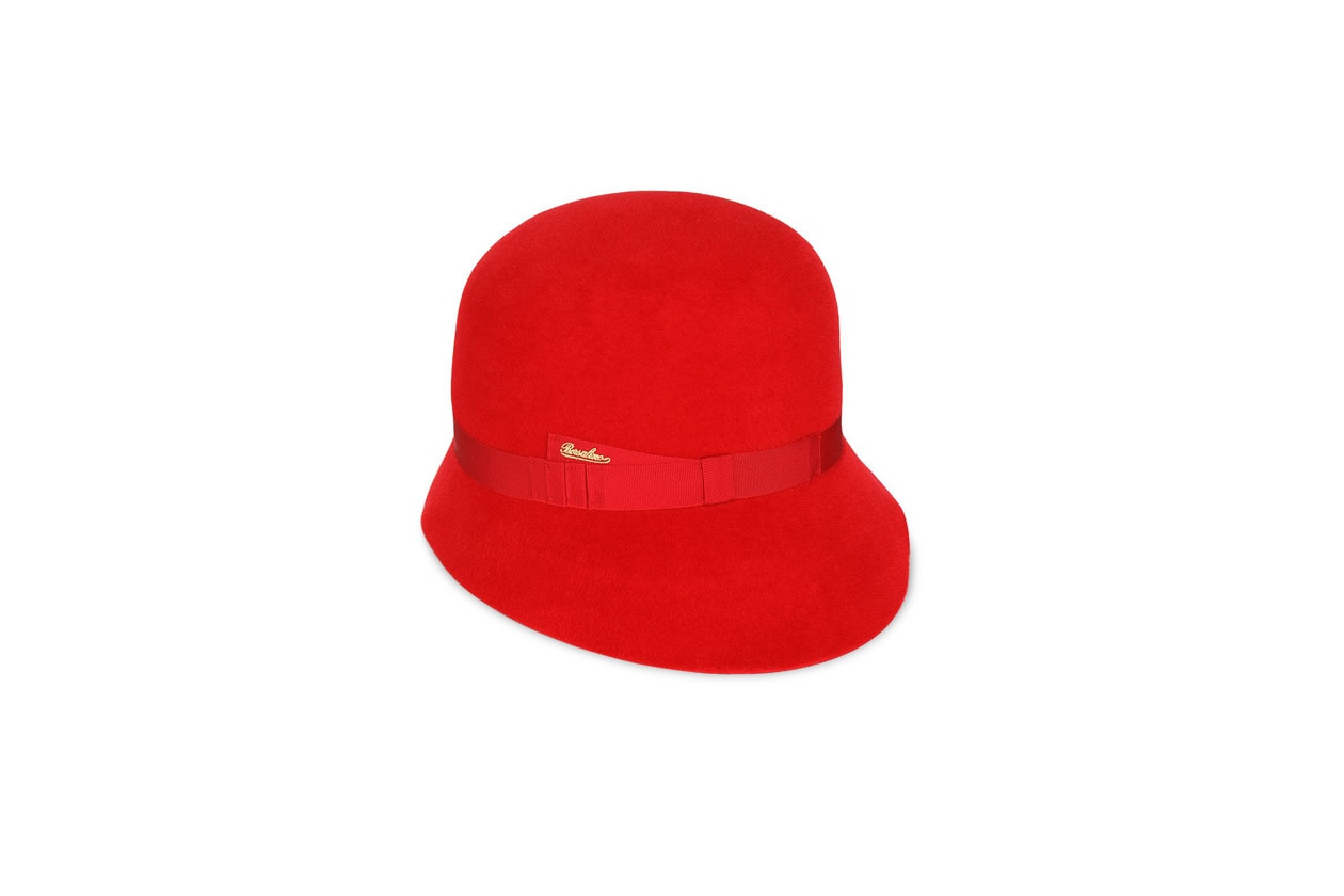 borsalino hat red