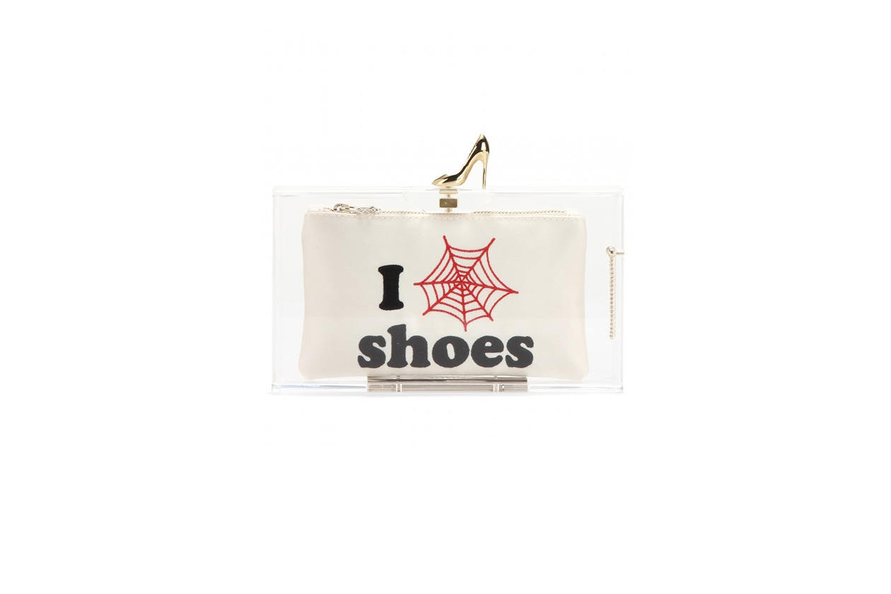 Fashion Speak your mind charlotte olympia clutch