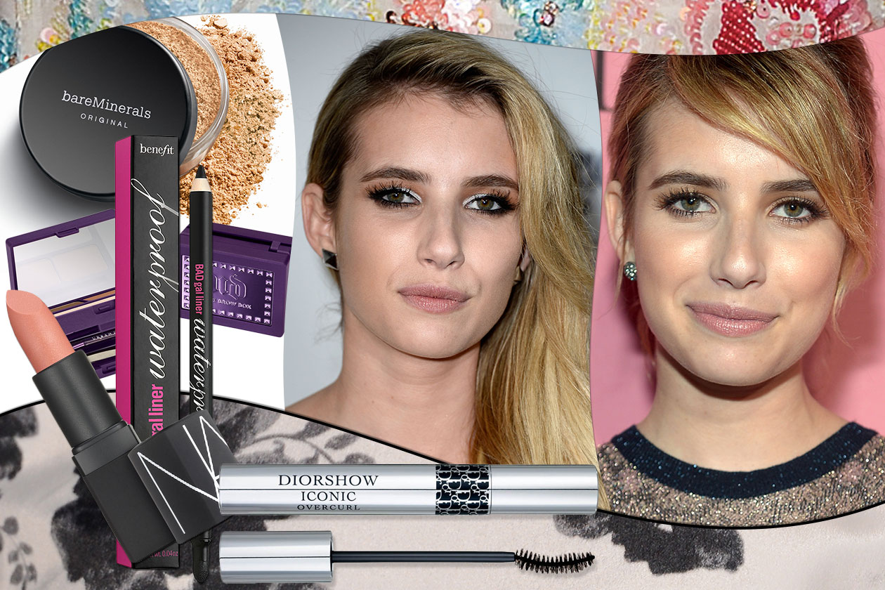 BEAUTY Emma Roberts Cover Collage