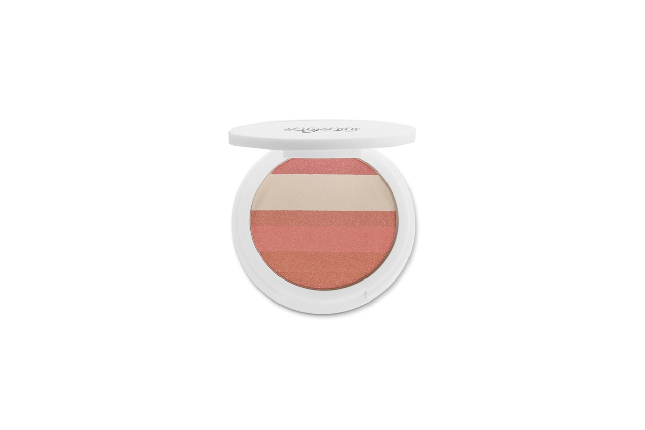 lily lolo Rose Glow Shimmer Stripes