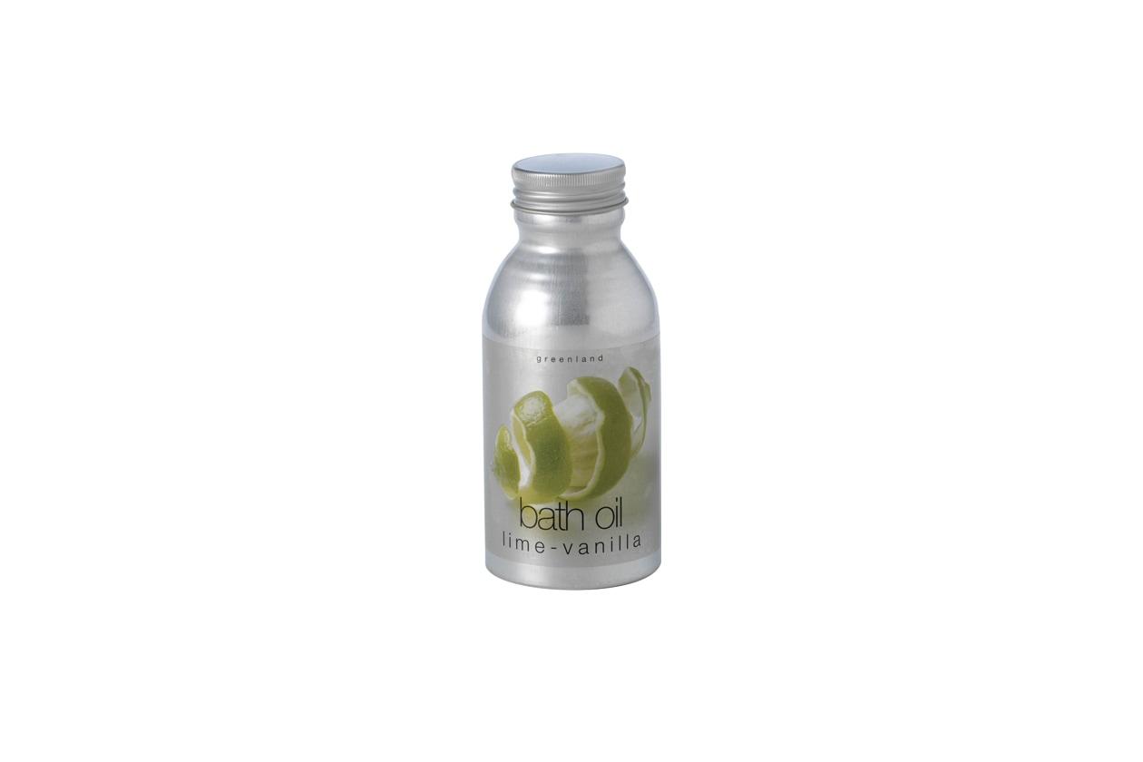 greenland bath oil LIME VANILLA