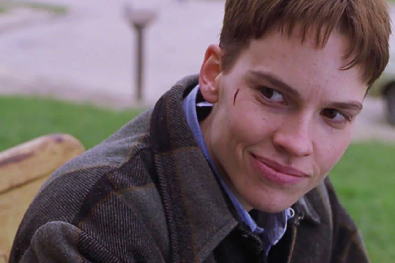 Come quello in cui diventa uomo per il film «Boys don't cry» del 1999