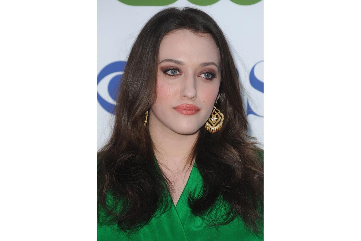 KAT EYES: bronzo e marrone sembrano essere i colori preferiti da Kat quando il make up è centrato sugli occhi