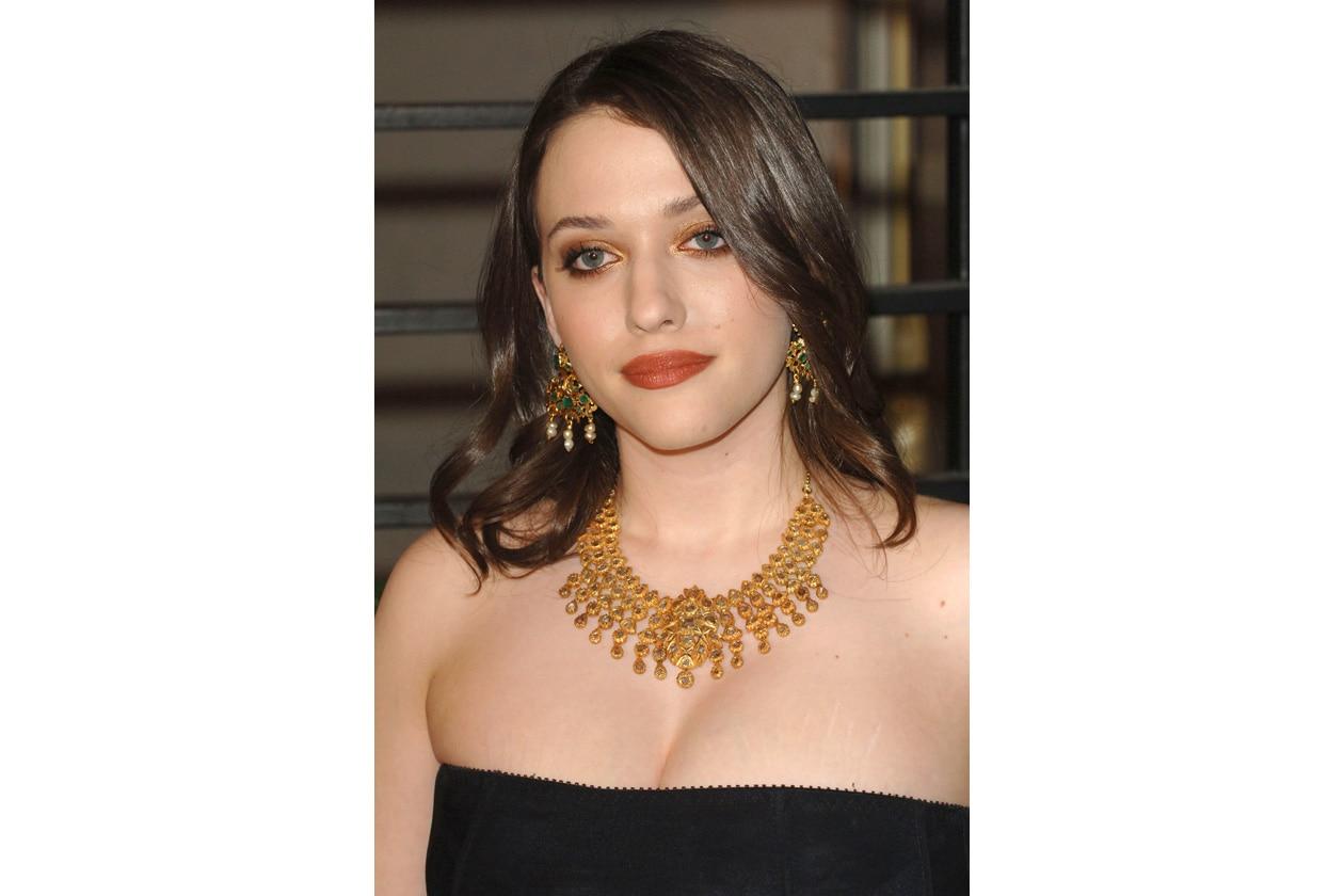 """Al Party per gli Oscar del 2010: il trucco è promosso con riserva per """"eccesso di colore"""""""