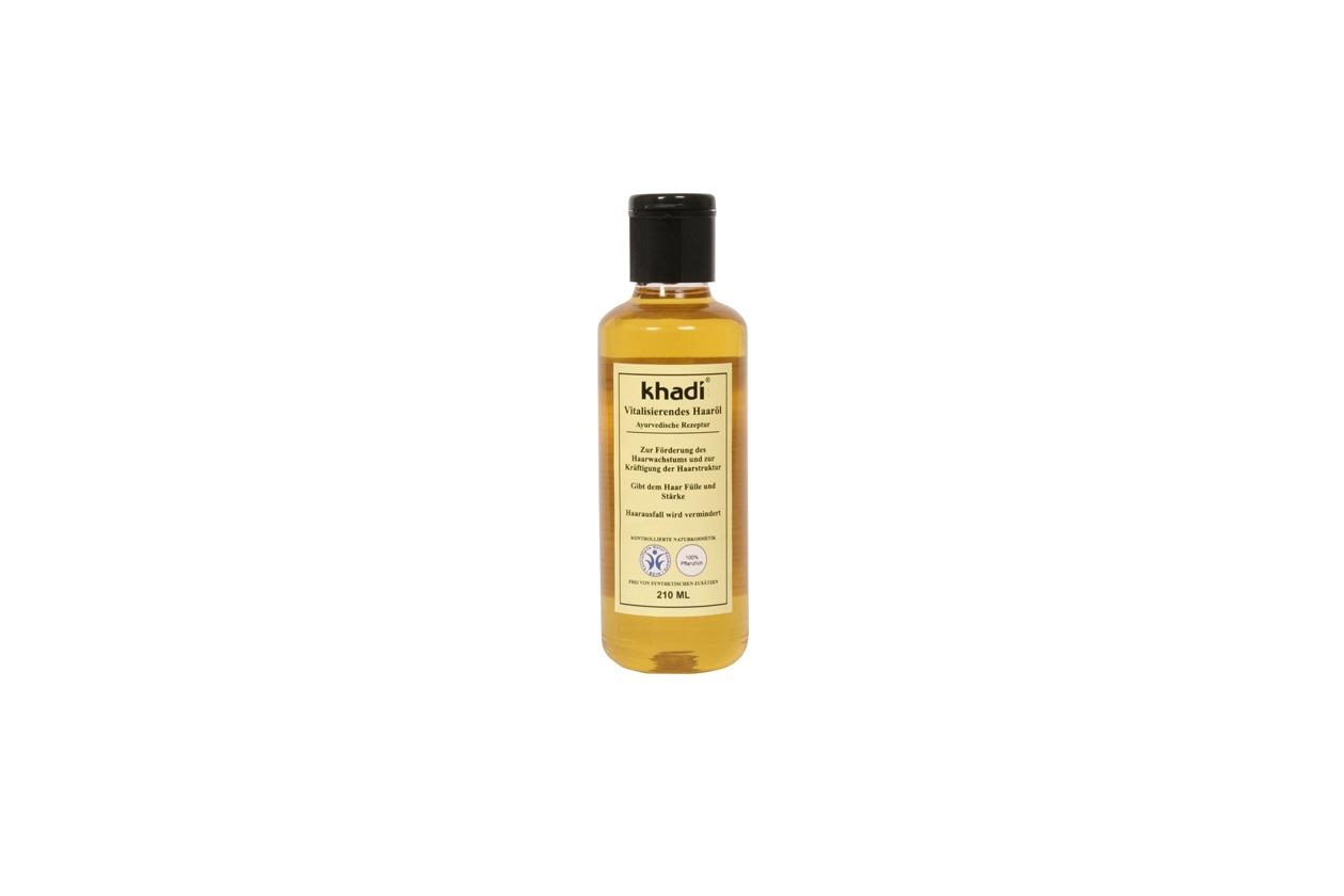 khadi olio rivitalizzante per capelli