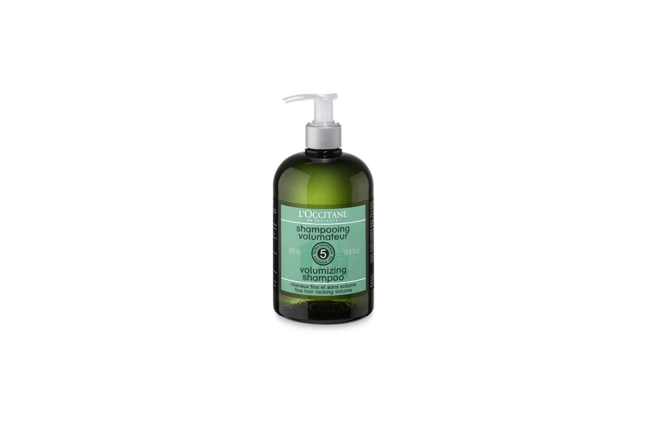 occitane volumizing shampoo