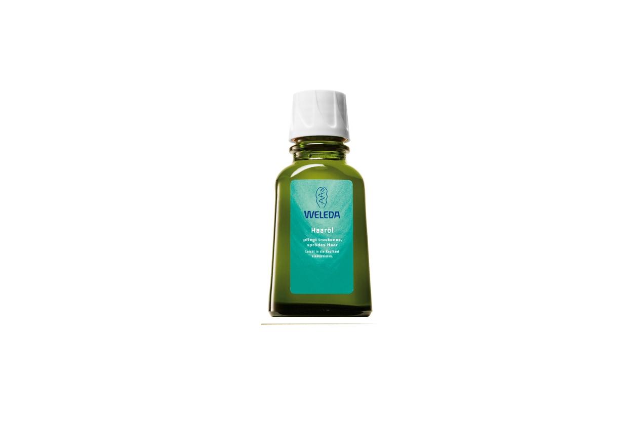 weleda olio per capelli