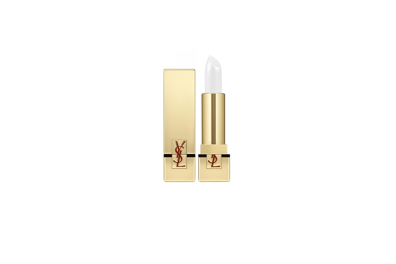 BEAUTY Frozen Make Up Yves Saint Laurent Labbra Rouge Pur Couture Blanc