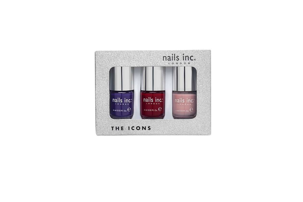BEAUTY Smalti holiday Nails Inc The Icons boxed