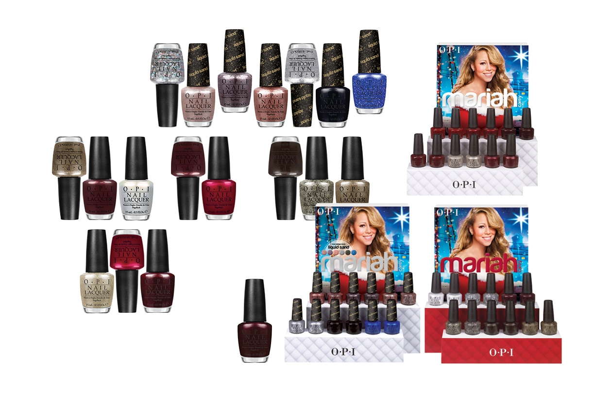 BEAUTY Smalti holiday OPI mariahcareyholiday