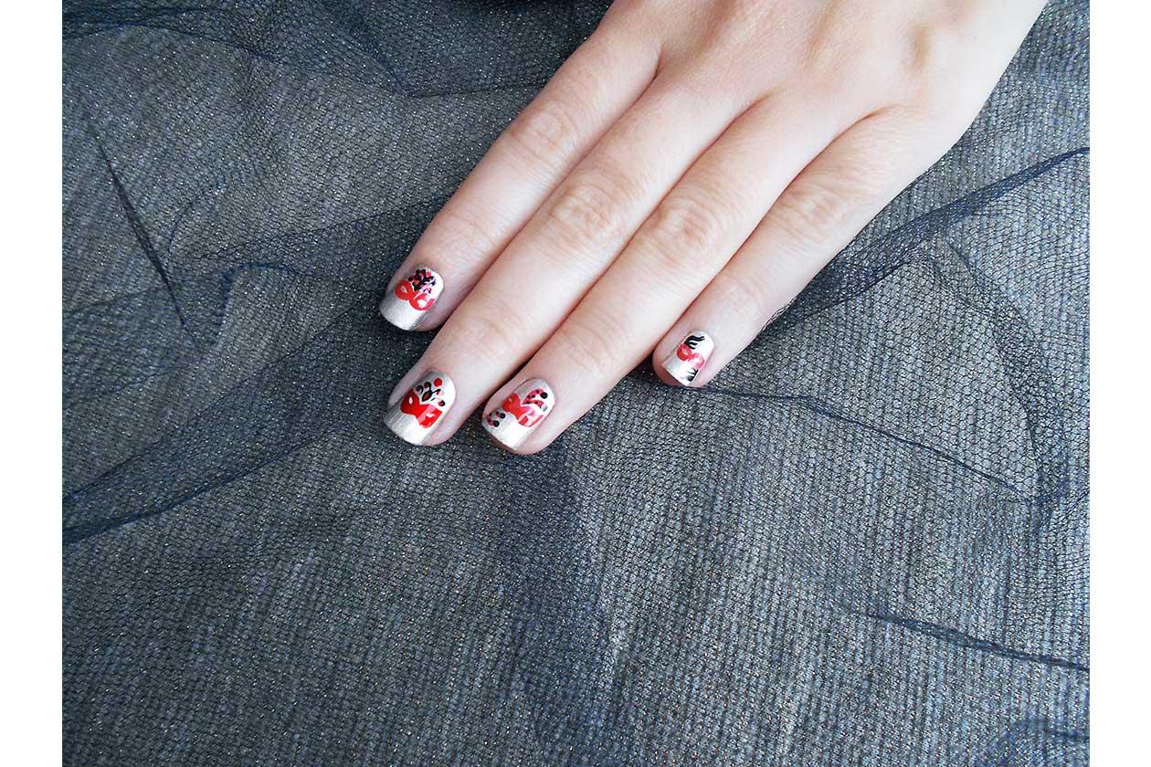 Beauty Nail tutorial Capodanno 06 finito