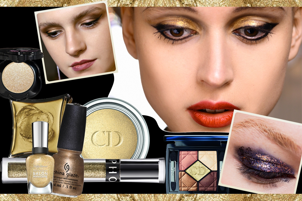 COVER gold makeup