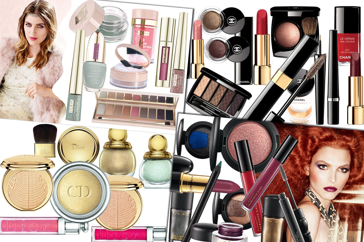 COVER holiday makeup