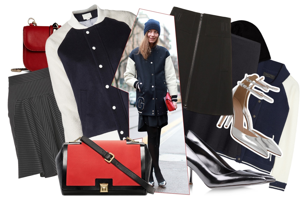 FASHION Get the Varsity look 00 Cover collage