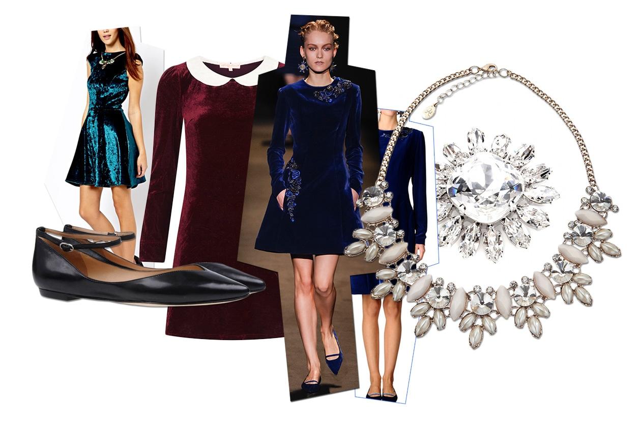 Fashion 6 look per Capodanno 00 Cover Collage Velluto