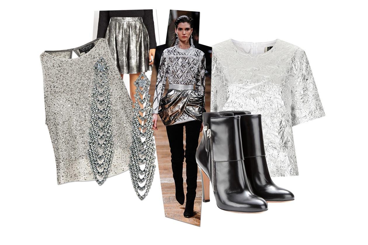 Fashion 6 look per Capodanno 00 Cover collage Sparkling Silver