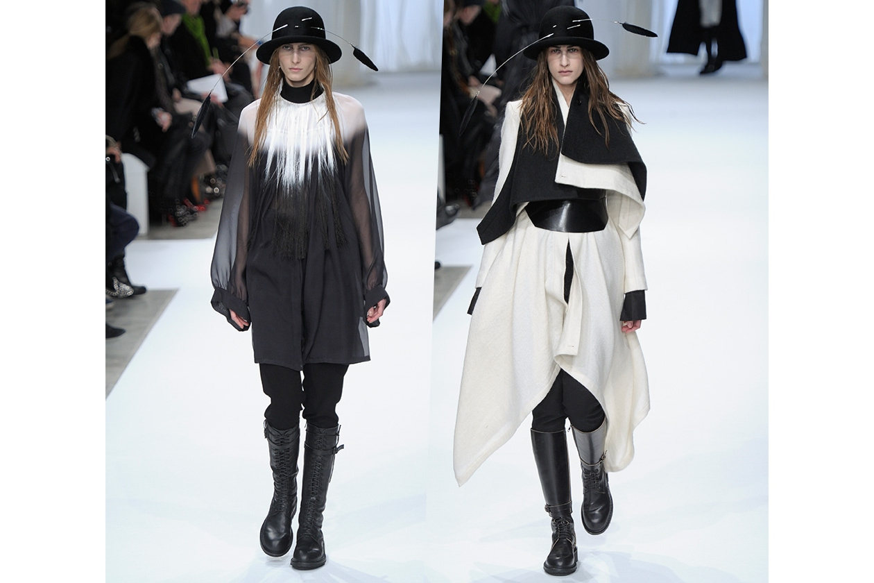 Fashion Bianco e Nero A Demeulemesteer
