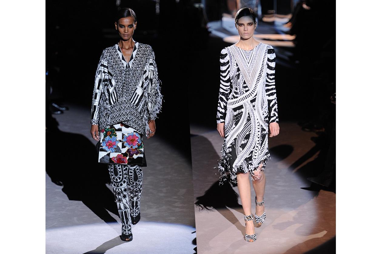 Fashion Bianco e Nero Tom Ford