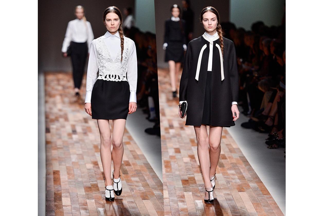 Fashion Bianco e Nero Valentino