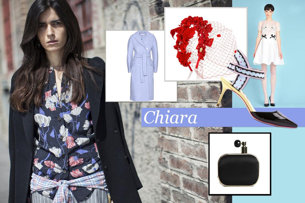 Fashion It girls Xmas look Chiara