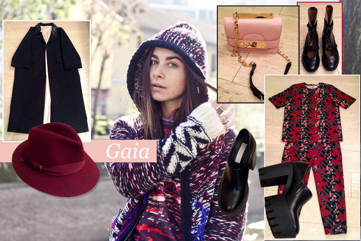 Fashion It girls Xmas look Gaia