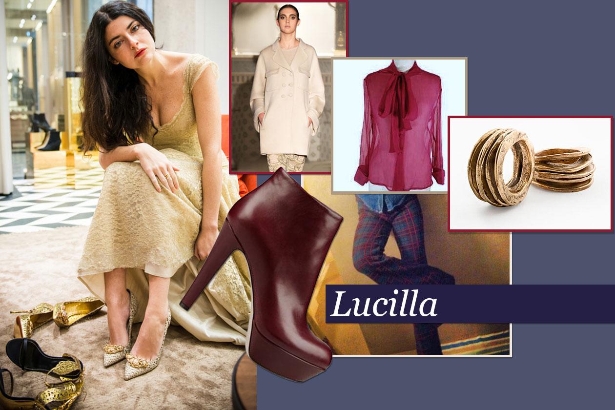 Fashion It girls Xmas look Lucilla