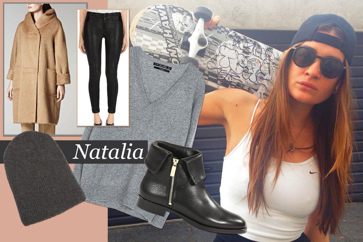 Fashion It girls Xmas look Natalia