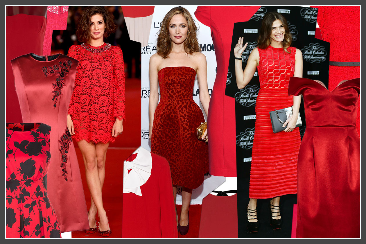 Fashion Just a red dress 00Cover Collage