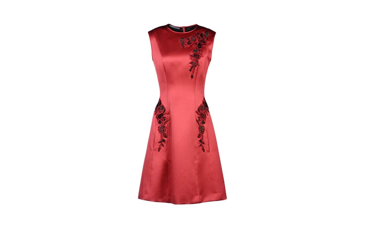 Fashion Just a red dress alberta ferretti