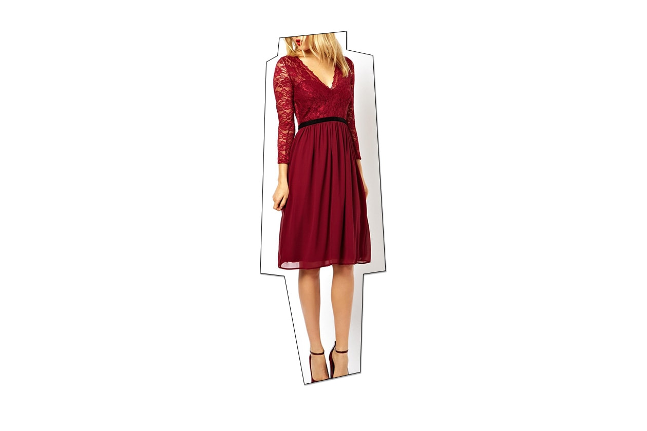 Fashion Just a red dress asos2