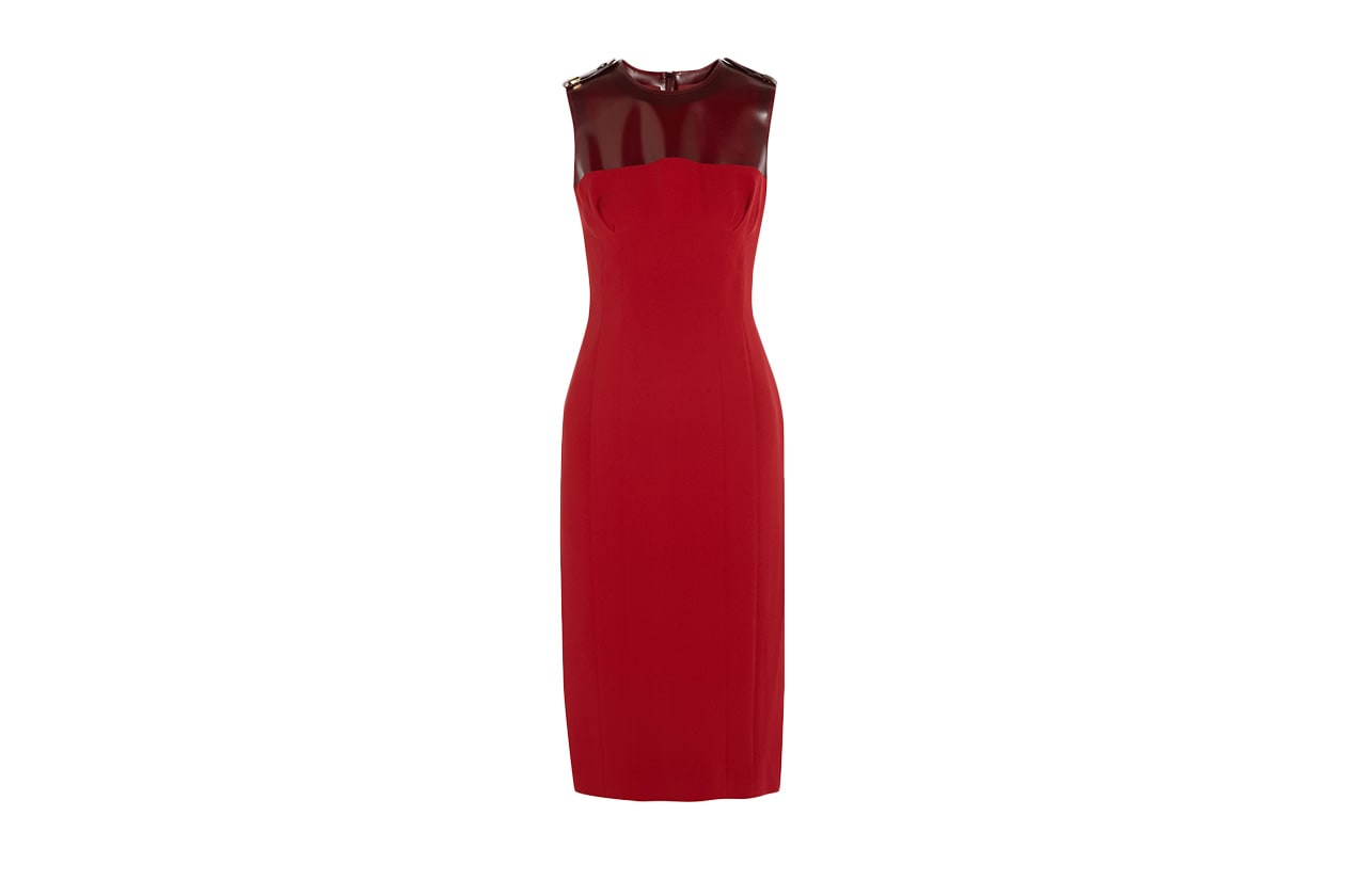 Fashion Just a red dress burberry