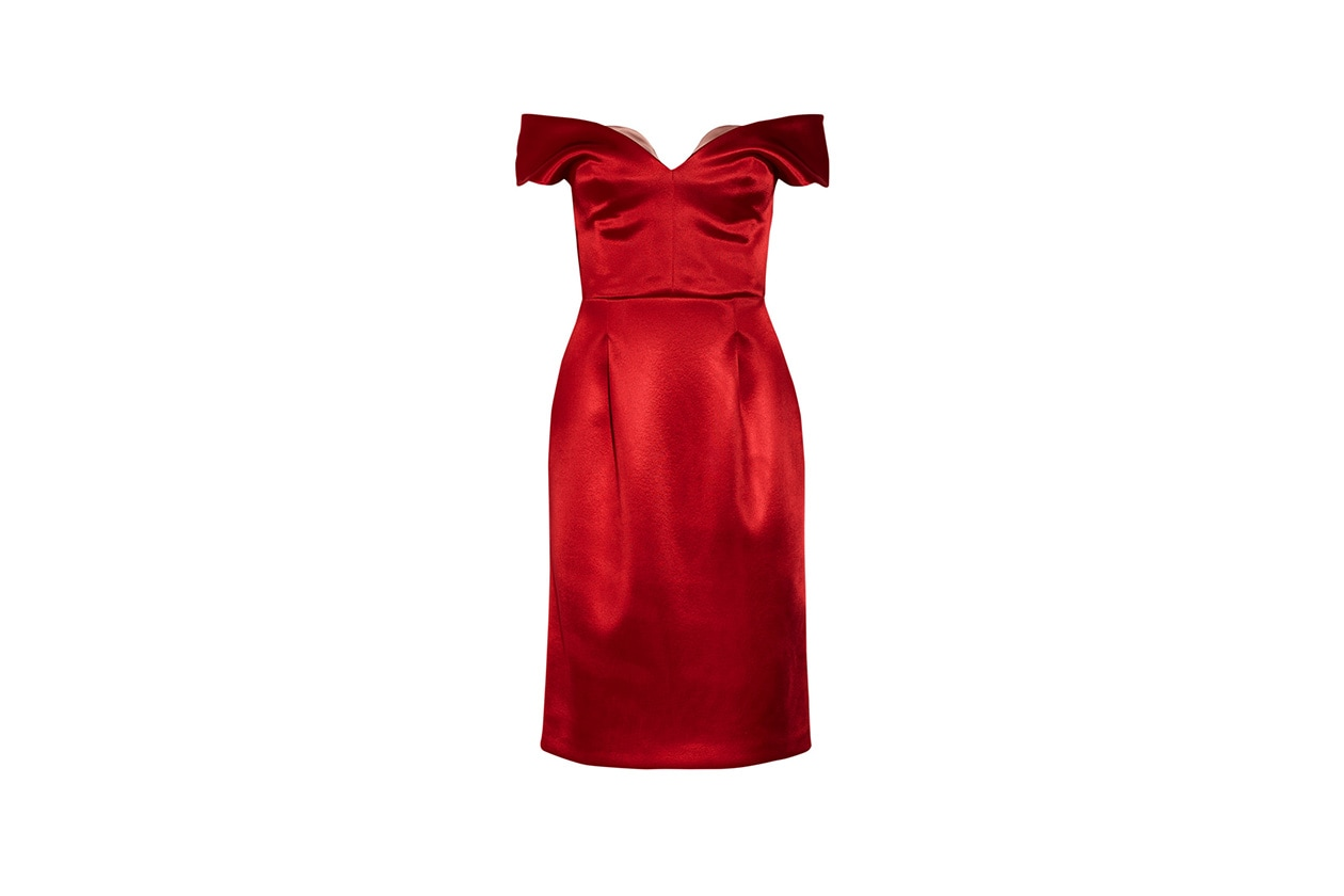 Fashion Just a red dress jonathan saunders