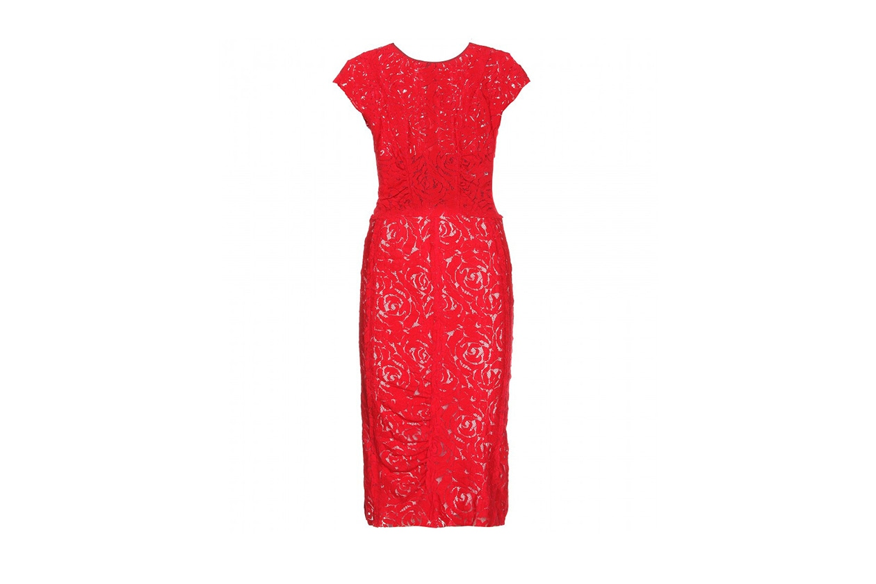 Fashion Just a red dress nina ricci