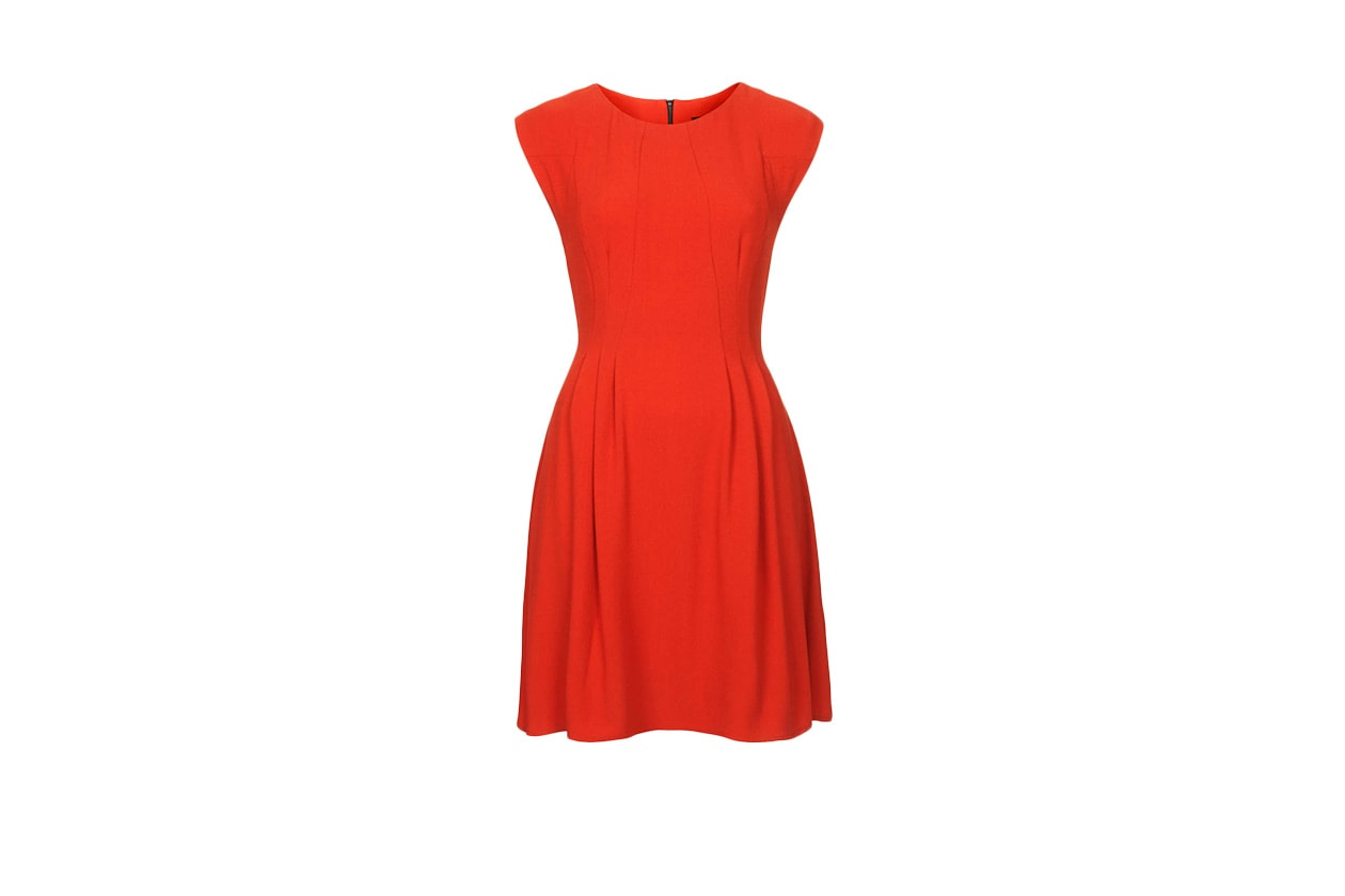 Fashion Just a red dress topshop