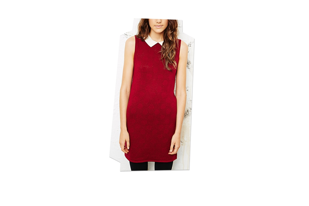 Fashion Just a red dress urban outfiters