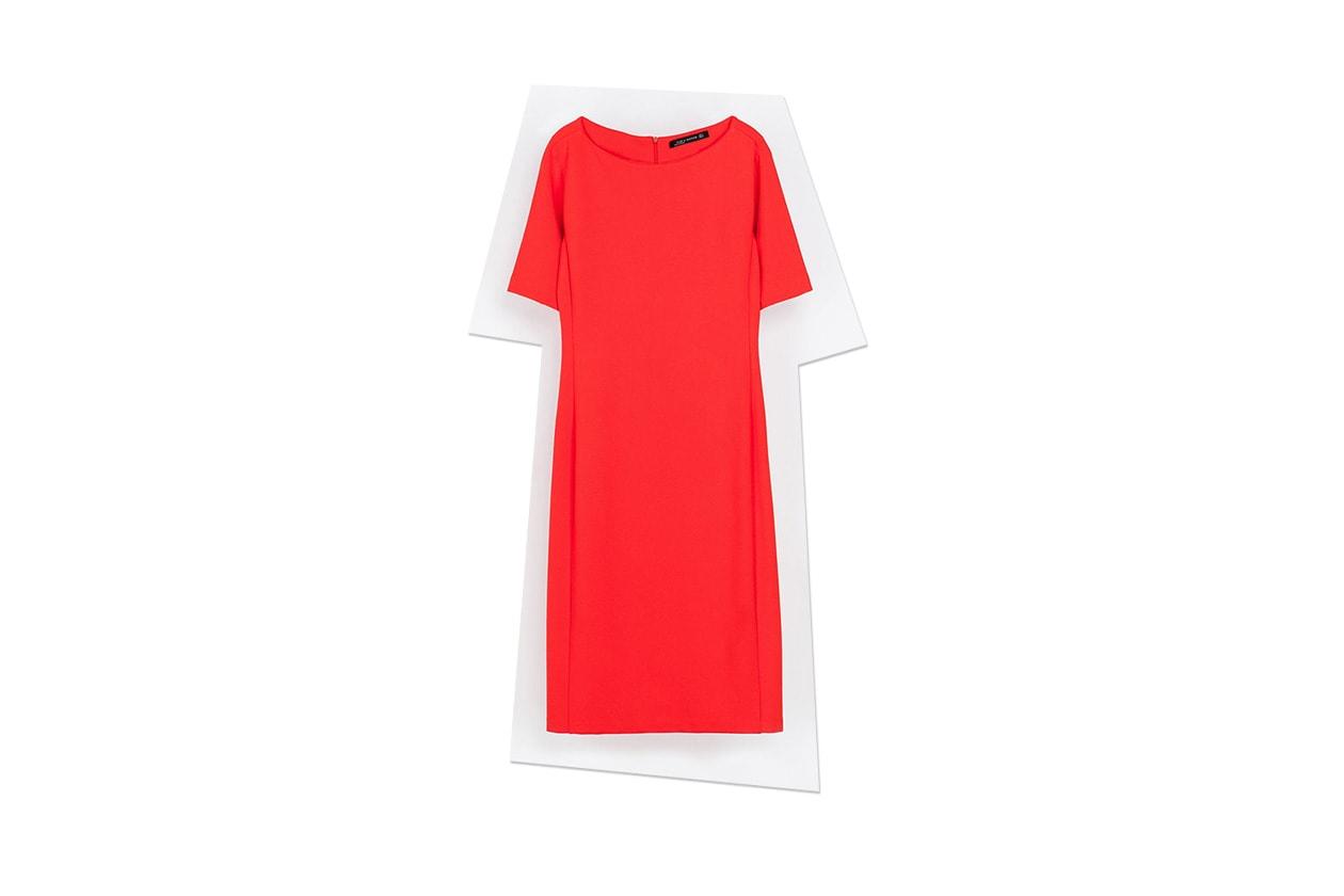 Fashion Just a red dress zara
