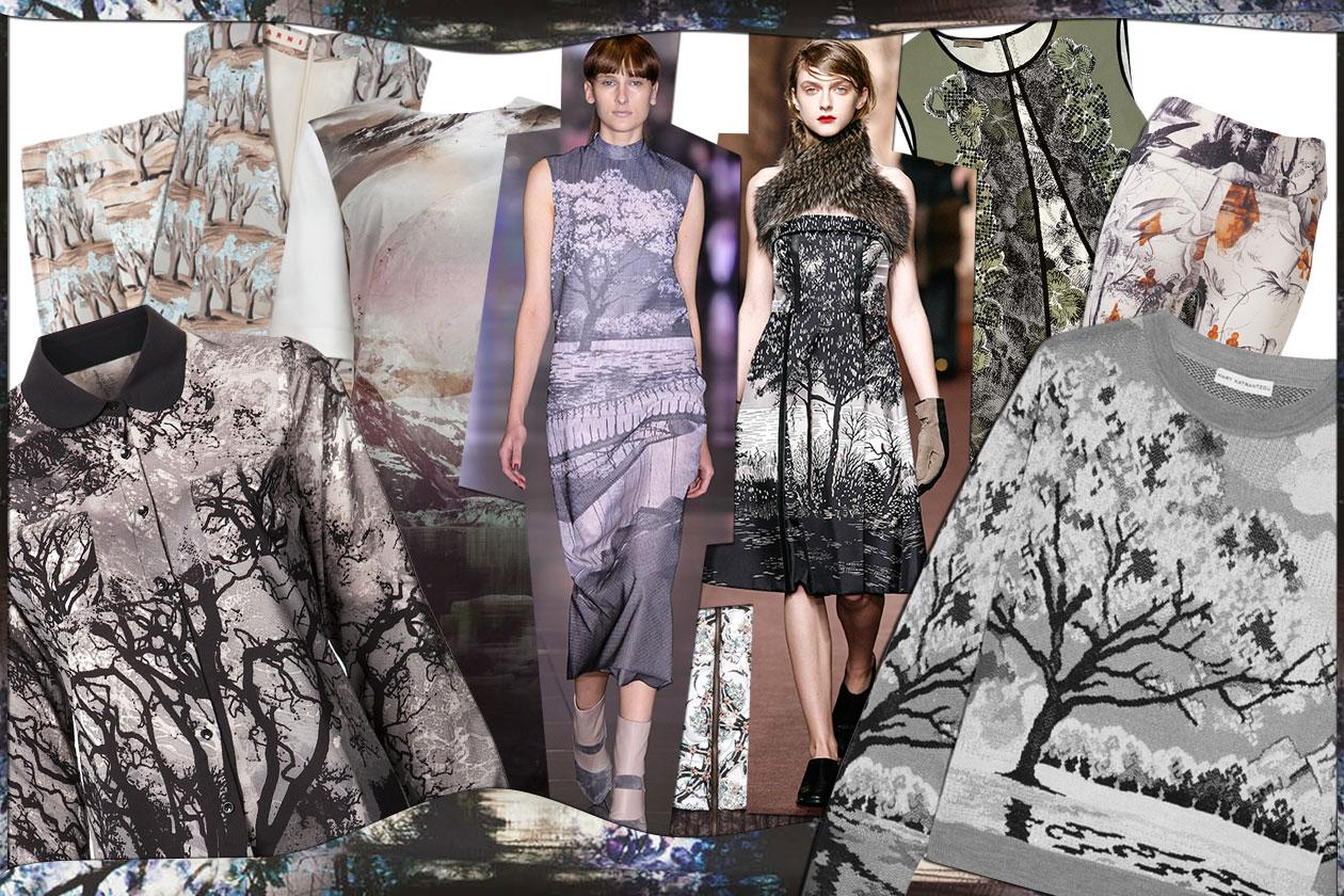 Fashion paesaggi d'autunno 00 Cover collage