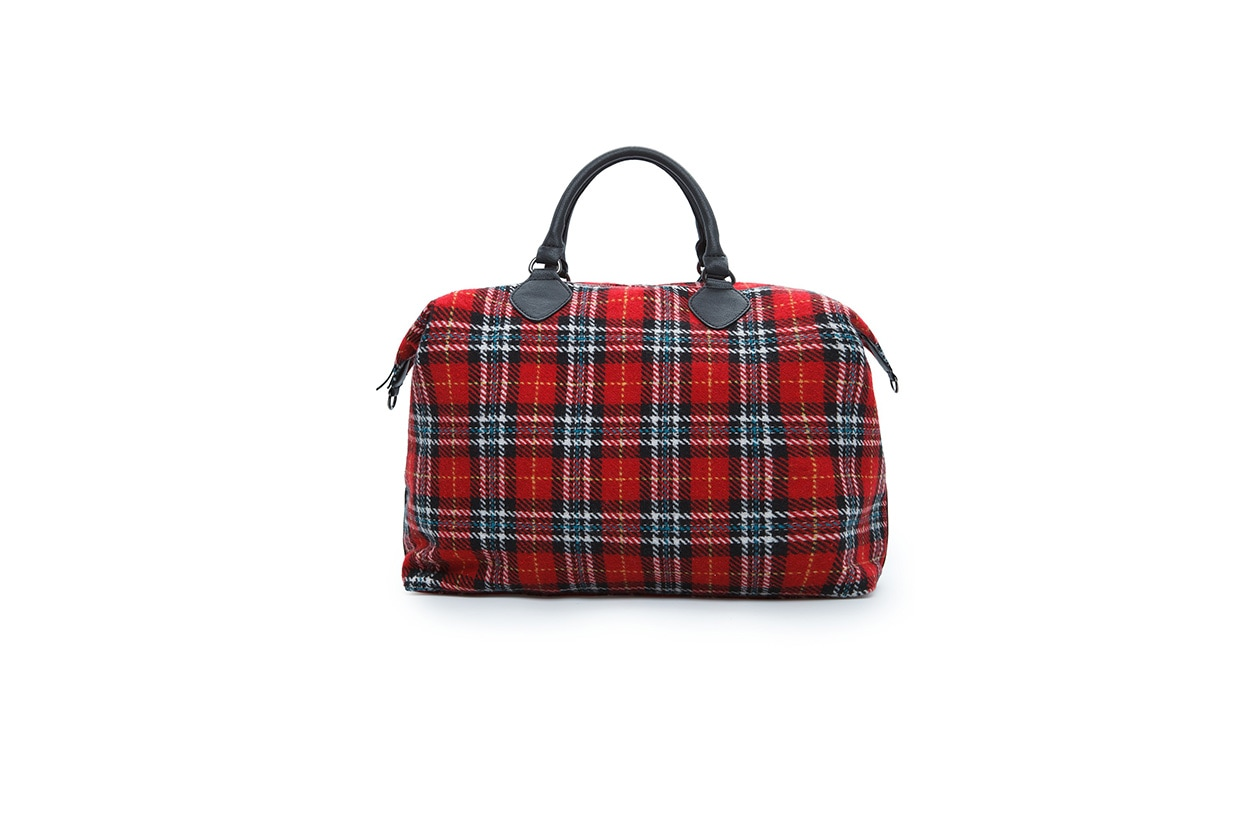 Fashion regali di Natale best friend bauletto tartan Mango 39,99