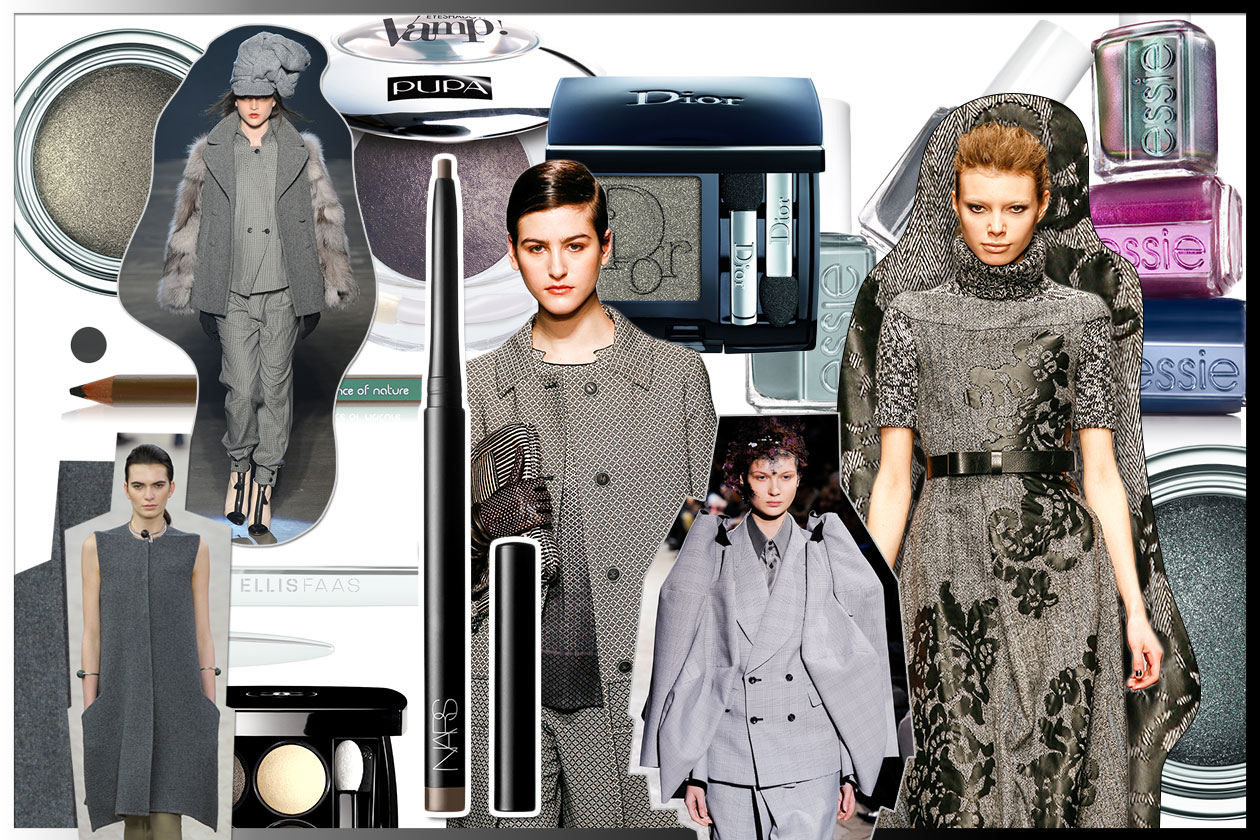 Grigio nel make up e nel guardaroba: la selezione beauty&fashion di Grazia.IT