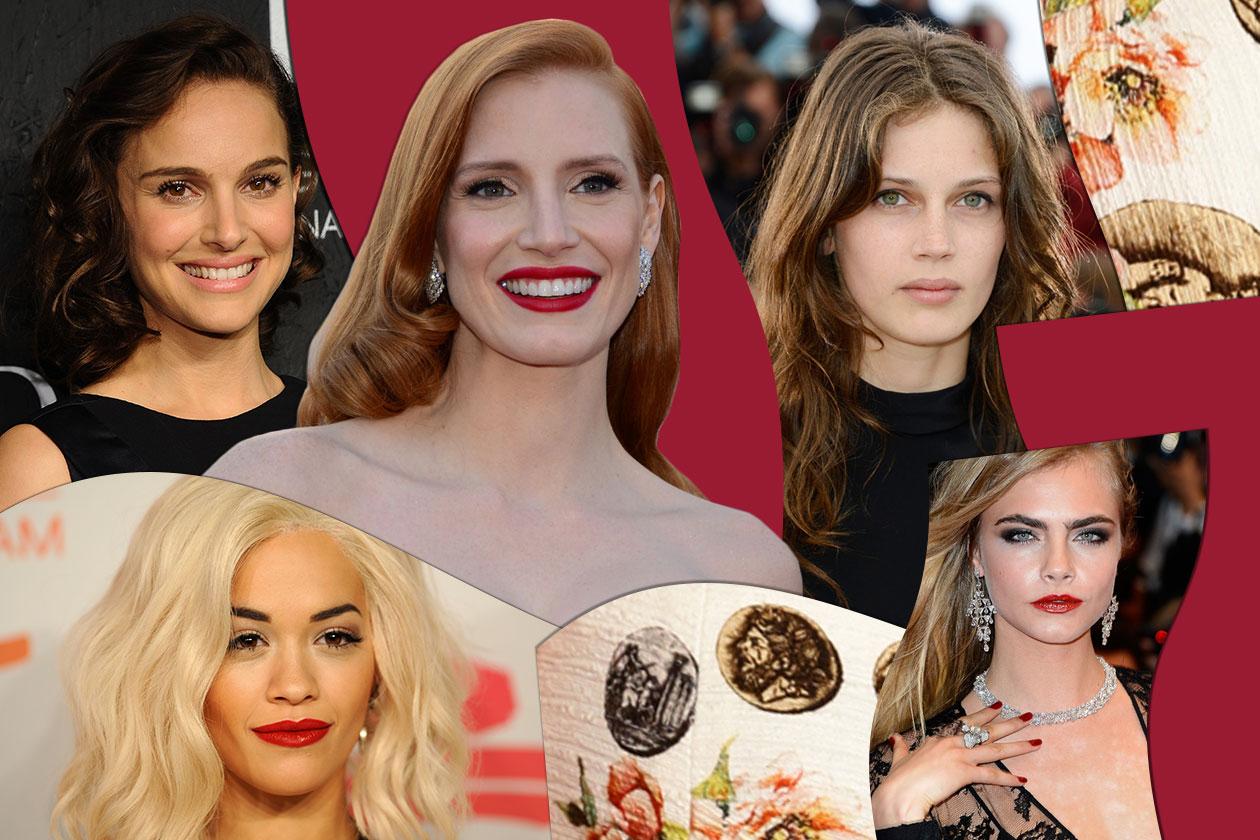 I migliori beauty look 2013 visti sui red carpet: le star più belle secondo Grazia.IT