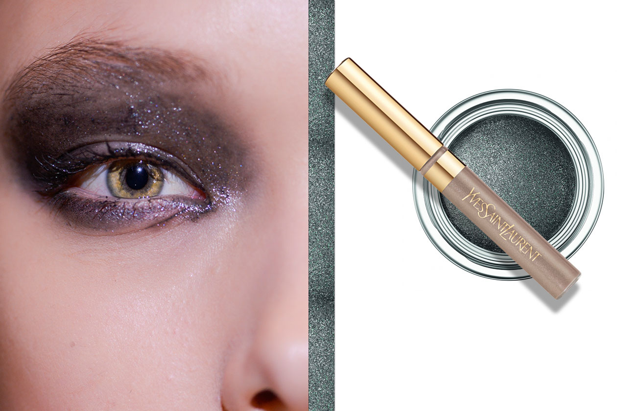 METALLIC EYES: il make up consigliato alle castane (Donna Karan- Dior – Yves Saint Laurent)