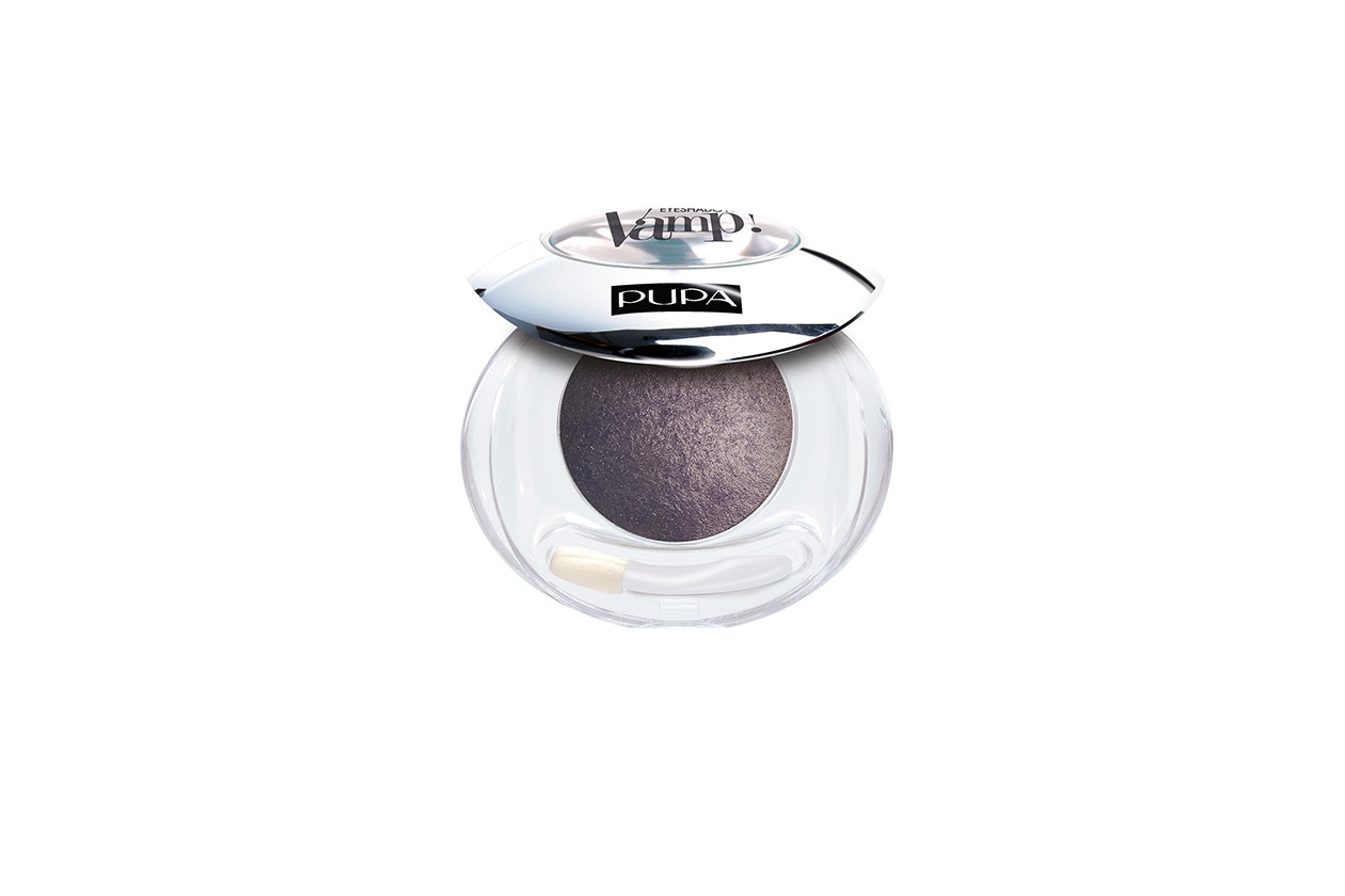 Molto versatile l' Ombretto Vamp! Wet&Dry Eyeshadow 405 Slate Grey di Pupa
