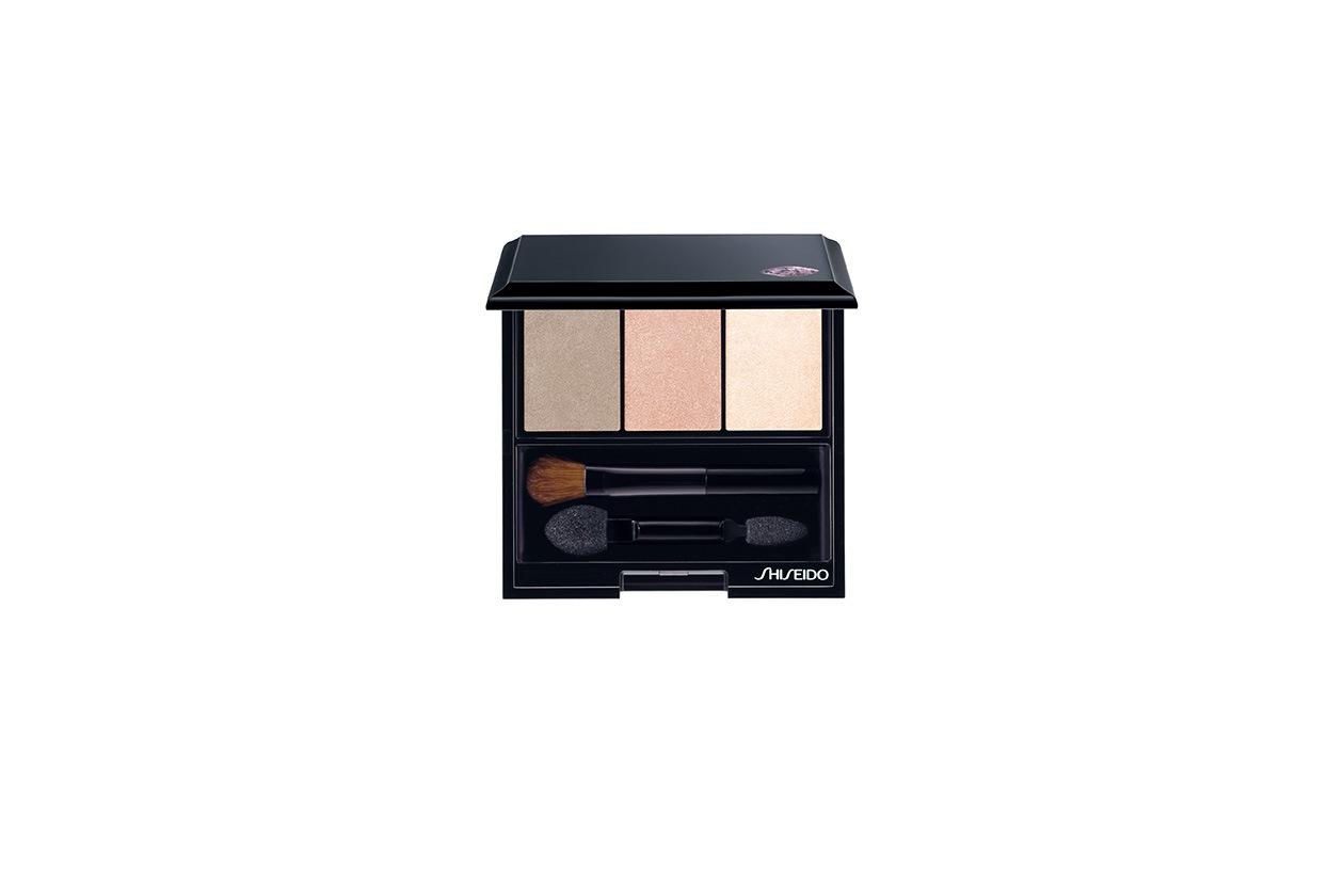 Pensato per le pink addicted il Luminizing Satin Eye Color Trio 213 di Shiseido